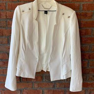 White House black market white blazer